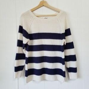 Abound | Blue & White Sweater SZ S
